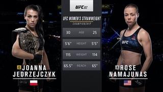 UFC 261 Free Fight: Rose Namajunas vs Joanna Jedrzejczyk 1