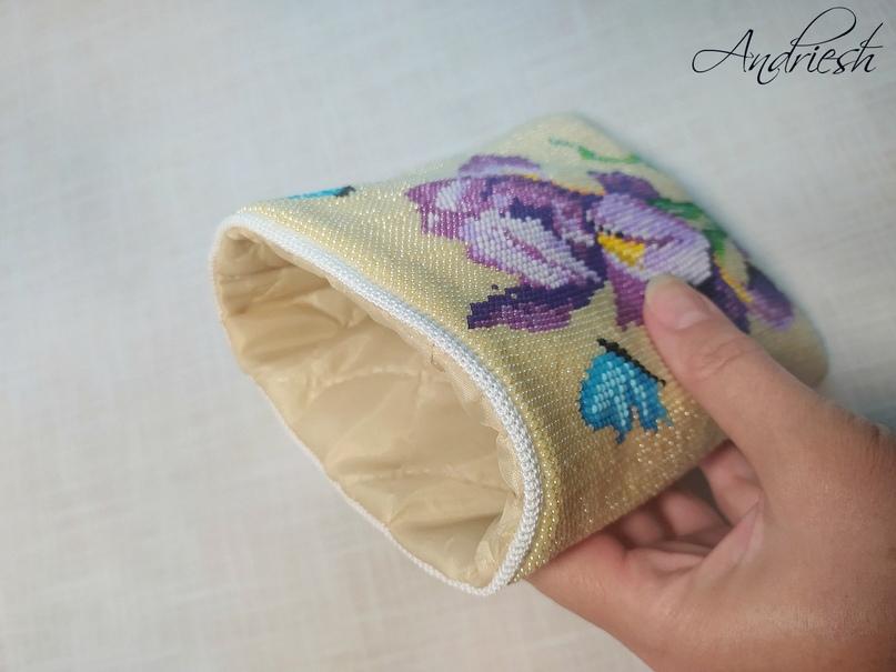 Как я сшиваю донышко и вшиваю в сумки подклад и фермуар., изображение №23