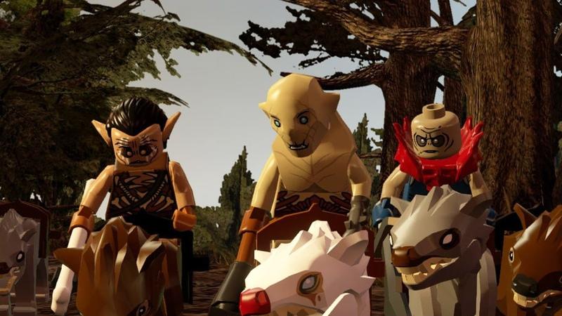 LEGO The Hobbit LEGO Хоббит Прохождение 5 PS4 Gameplay