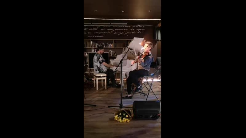 Скрипка и гитара Акустика 22 01 2021 С Сурганова и В Тхай