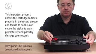 AT-LP3 Setup | Fully Automatic Belt-Drive Turntable