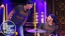 Will Ferrell and Chad Smith Drum Off