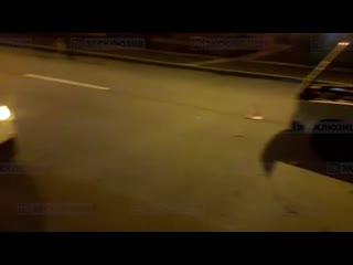 Виновник ДТП на Крестовском проспекте скрылся с места происш