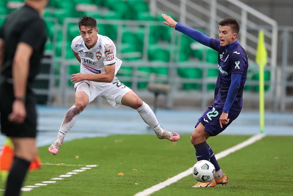 Уфа - ЦСКА, 0:1. Константин Марадишвили