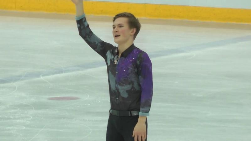 Михаил Коляда КП Контрольные прокаты 2019 2020 Mikhail Kolyada SP Open Skates