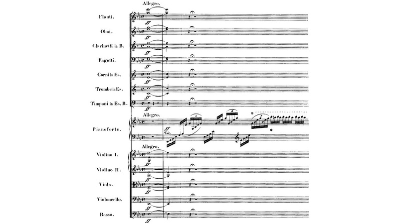 Beethoven Piano Concerto No 5 in E flat Major op 73 Brendel Rattle full score