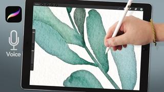 Tutorial: Hard Watercolor Edges in Procreate