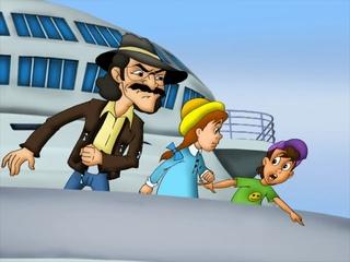 Зина, Кеша и террористы (2011) мультфильм