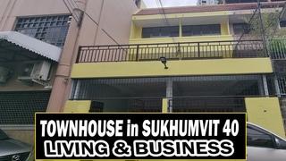 Bangkok Property Tour - Townhouse For Living @ Business - Sukhumvit 40