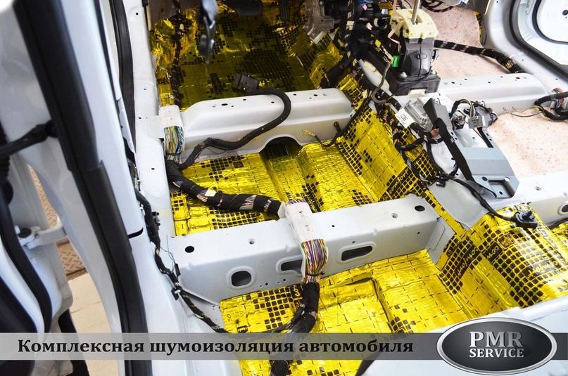 Комплексная шумоизоляция Land Rover Freelander 2, изображение №6
