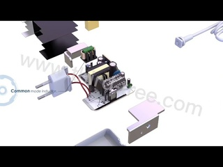 What really components inside a Macbook charger ? -USB C macbook adapters explosive view