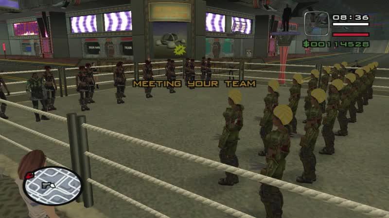 GTA Alien City - Fighting Club, Alien City 1 Central Tower Fight