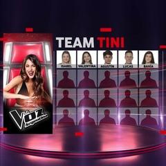 La Voz Argentina on Instagram: El #TeamTini se viene con todo! Estas son las grandes voces que sum @tinitastoessel a su equipo esta semana #LaVo...
