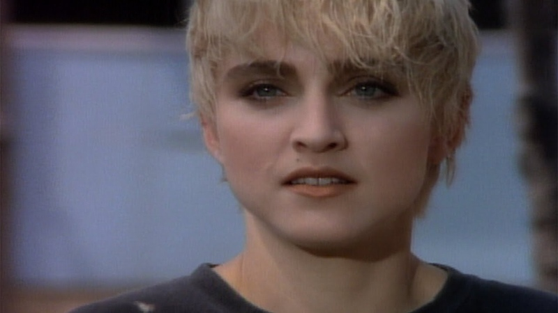 Madonna Papa Don't Preach Official Music Video