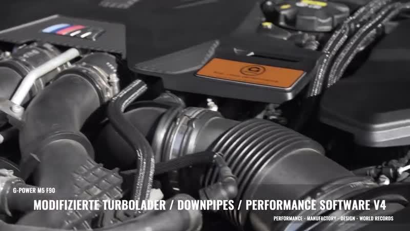 G-POWER M5 F90- Biturbo-Geschoss mit 800 PS bringt Supersportwagen ins Schwitzen!.mp4