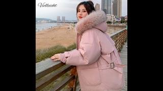 Vielleicht 2020 модная теплая хлопковая стеганая пуховая парка с капюшоном короткое пальто зимняя куртка женская куртка с