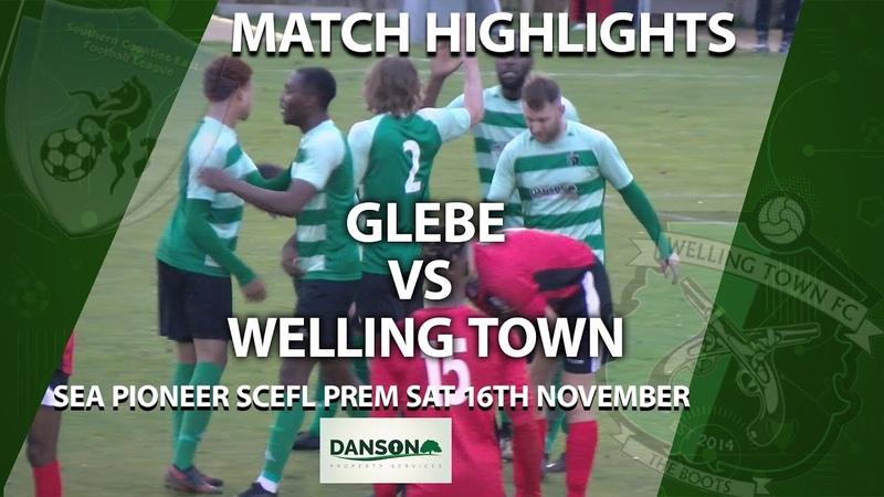 13 Tour - SCEFL Premier Division. Glebe 1:1 Welling Town