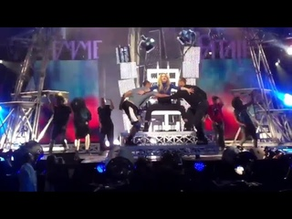 Britney Spears - Hold It Against Me (Rain Palms Casino Rehearsal for the Femme Fatale Showcase)