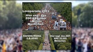 Die Beweise: Polizei UND Presse vermeldeten erst 1,3 Millionen Demonstranten | Heidi Klum & Epstein