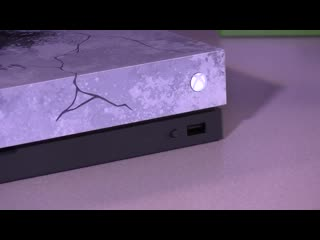 Xbox One X Gears 5 Limited Edition has these special Power UP / Power Down Sounds