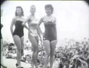 1950s Miss Muscle Beach Beauty Pageant Santa Monica California Los Angeles Pinup