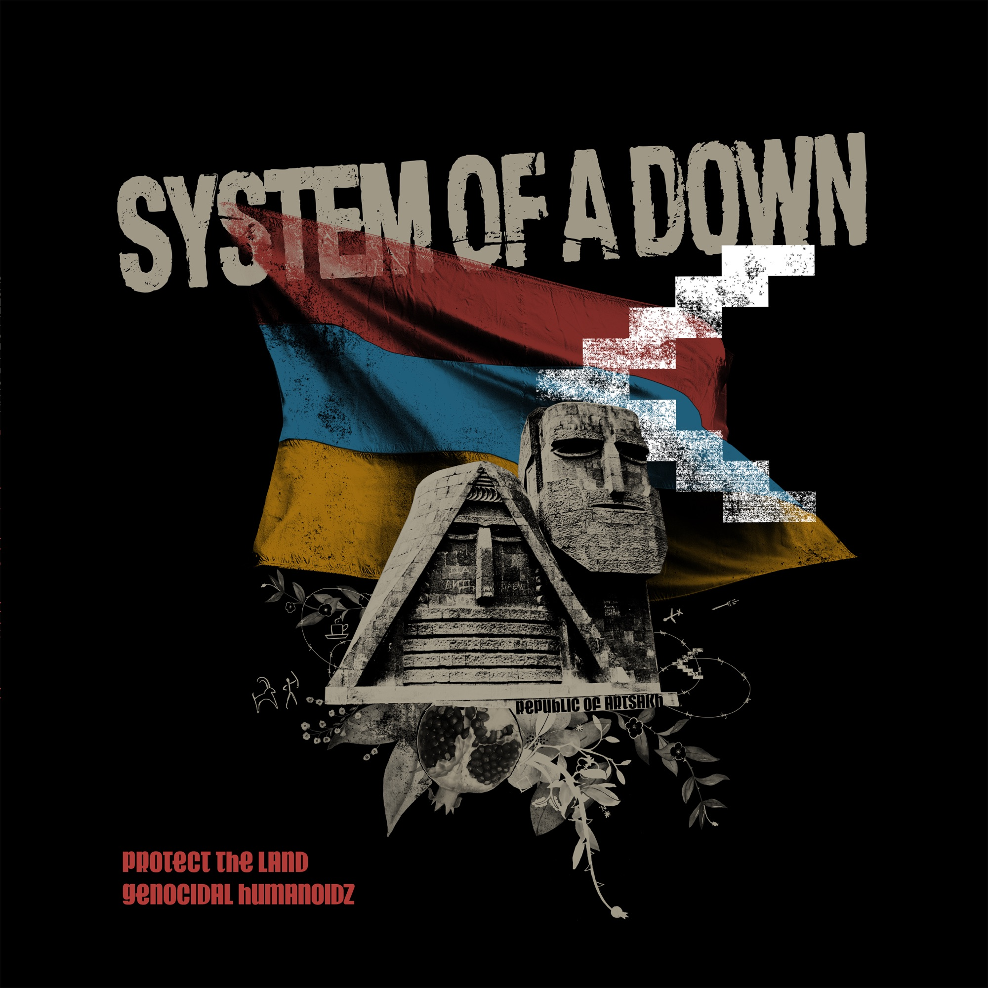 System of a Down - Protect The Land & Genocidal Humanoidz (Single)