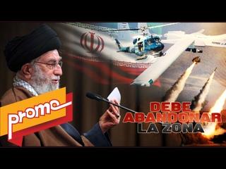 Promo: Detrás De La Razón: El Ayatolá Seyed Ali Jameneí dice que tropas estadounidenses deben abandonar la región