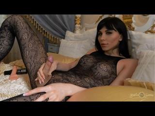 Bailee Paris (Bailey Paris) / Fancy Jack Off [TS, Trans, Shemale, Solo, Posing, Gape Ass, Anal,Fingering, Dildo, Cumshot]