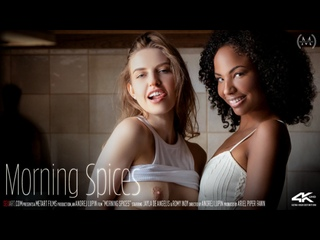 Jayla De Angelis, Romy Indy - Morning Spices [SexArt] Lesbian Sex Erotica Passion Interracial Pussy Licking Fingering Brazzers