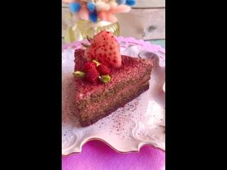 Видео от AmritaCake  Авторские RawVegan торты  СПб