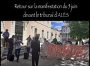 Retour sur la manifestation du 5 juin devant le tribunal d'ALÈS