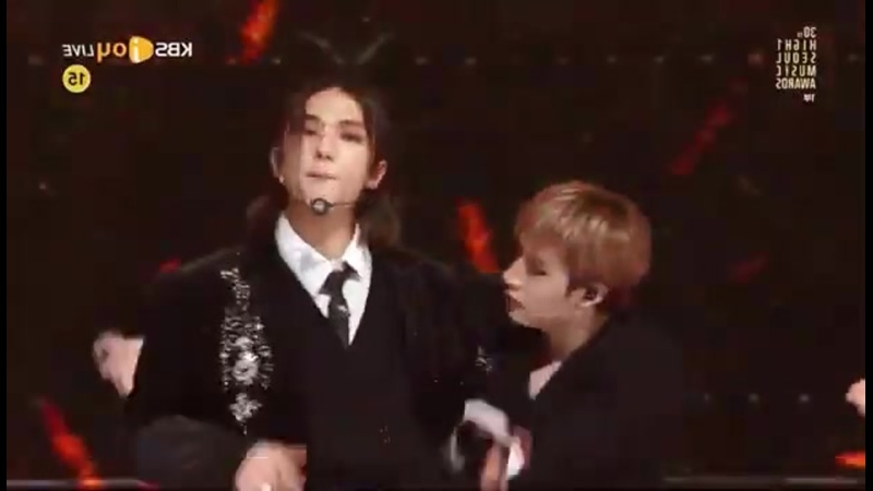 STRAY KIDS at Seoul Music Awards (SMA) - intro back door 3racha perfomance dance performance (360p)