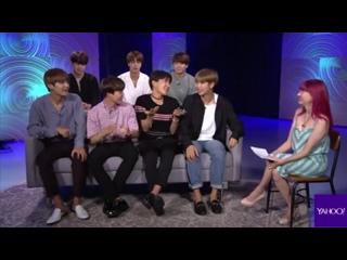 [INTERVIEW] 170523 BTS на Yahoo Music Live Session (США)