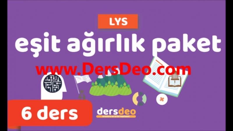 Ygs Dersler | DersDeo.com