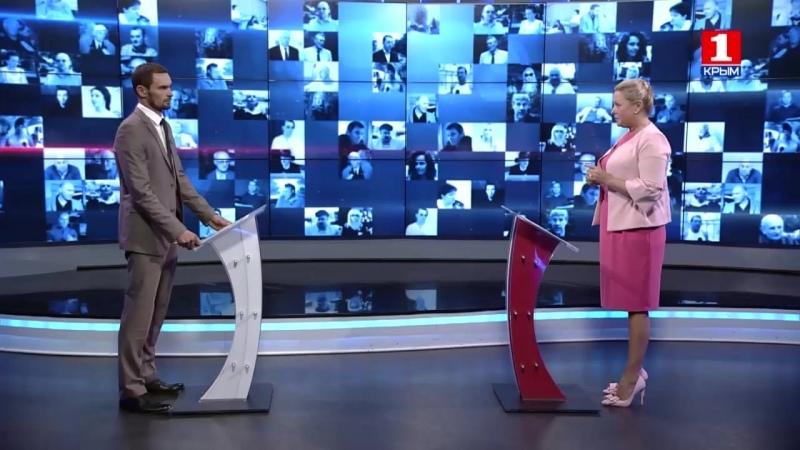 Программа Важно знать на Первом крымском канале с участием Бурец Анжелики Витальевны, 24.09.2018