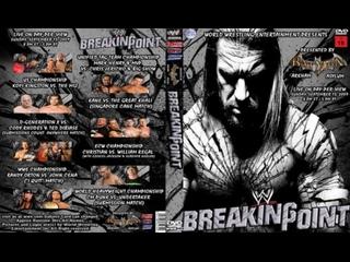 มวยปล้ำพากย์ไทย WWE Breaking Point 2009 Part 1 ครับ พี่น้อง เครดิตไฟล์ กลุ่มมวยปล้ำพากย์ไทย