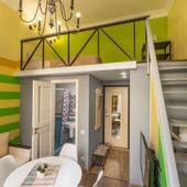 №1 Апартаменты студия Green