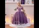 Как сделать торт-куклу Рапунцель. / Наша группа в ВК Торты на заказ. Мировые шедевры.