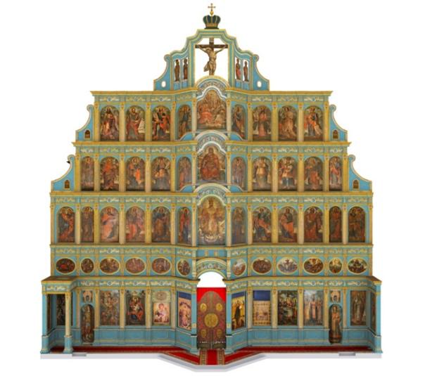 Иконостас Софийского собора.