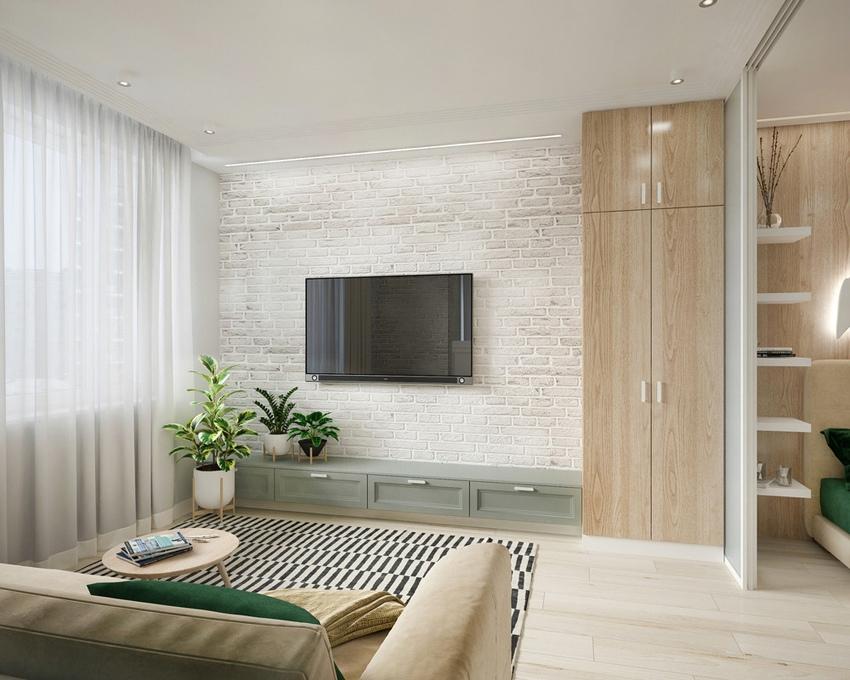 Проект квартиры 46 м.