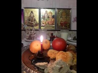 Пуджа Шивалингаму Наставление и благословение для нас, всех жителей Земли, 4 января 2021 год