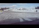 видео с камирв в авто первая гонка