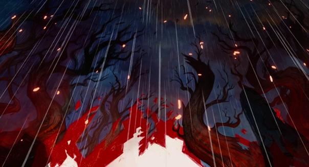 «Легенда о волках» / часть 3 Режиссеры: Томм Мур и Росс Стюарт Художники: Томм Мур, Мария Парейя и Росс