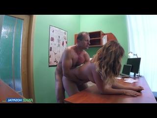[HD 1080] Nicole Vice - Doctor Fucks Minx in Job Interview (2016) - Red Ball's