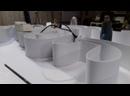 процесс изготовления клеёных световых букв