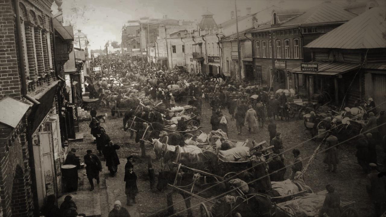 Ночная прогулка по городу Кимры 1926-го года вместе с сотрудниками уголовного розыска