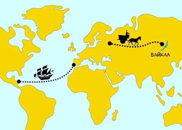 Объясняю на пальцах Все знают, кто открыл их Америку. А вот кто и когда открыл наш Байкал Интересная историяКолумб открыл Америку в 1492 году. И вот вам вопрос на засыпку:Как вы думаете, был ли