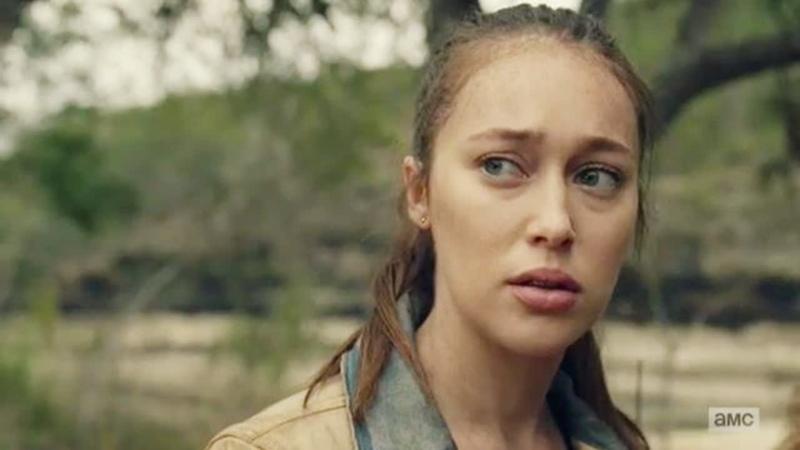 Бойтесь ходячих мертвецов 6 сезон 7 серия Алиша Кларк 8