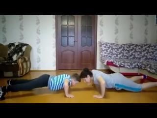 """Проект """"Тренируйся дома"""". Вольная борьба. Видео 29"""