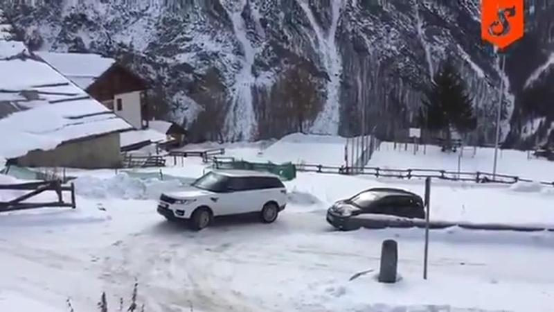 Range Rover vs FIAT